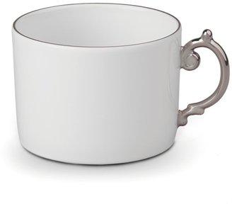 L'OBJET Aegean Platinum and Porcelain Teacup