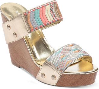 BCBGeneration Shoes, Carmyn Platform Wedge Sandals