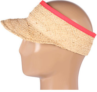 Hat Attack Braided Visor W/Grosgrain Binding Trim