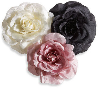 Newport News Silk-look Flower Corsage Brooch