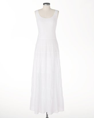 Coldwater Creek Tiered eyelet dress