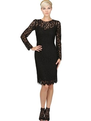 Dolce & Gabbana Viscose Lace Dress