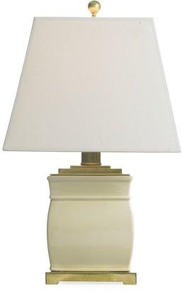 Williams-Sonoma Petite Square Porcelain Lamps