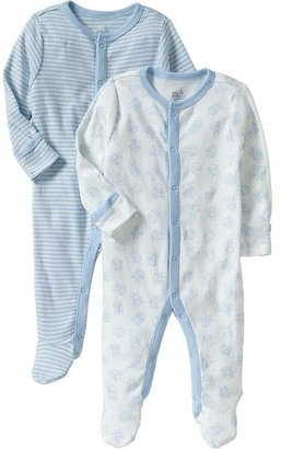 Old Navy Little Bundles Footed One-Piece 2-Packs for Baby