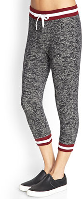 Forever 21 Heathered Athletic Capris