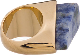Chloé Blue Marbled Stone Bettina Ring