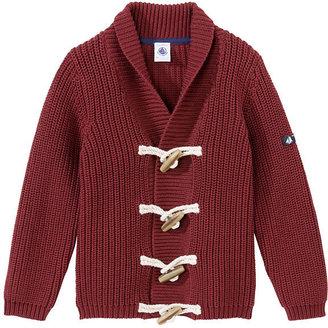 Petit Bateau Boy'S Shawl Neck Sweater