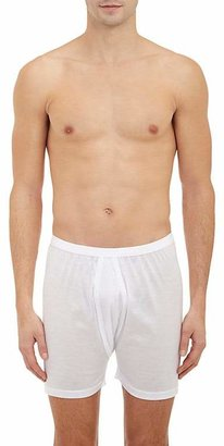 Zimmerli Men's Royal Classic Boxer Shorts $105 thestylecure.com