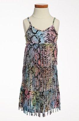 Flowers by Zoe Fringe Dress (Big Girls)