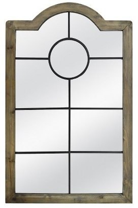 Threshold Arched Windowpane Mirror