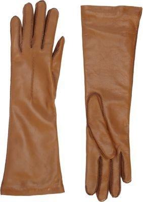 Barneys New York Long Leather Gloves