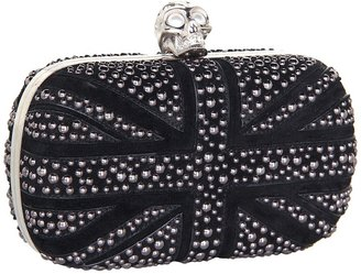 Alexander McQueen Skull Clutch (Black) - Bags and Luggage
