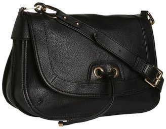 Perlina Handbags - Simone Crossbody (Black) - Bags and Luggage