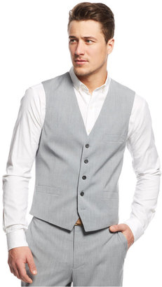 INC International Concepts Men's Marrone Vest, Only at Macy's $39.98 thestylecure.com