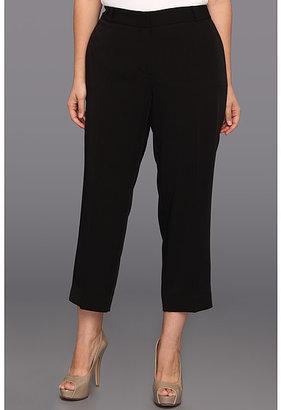Klein Plus Anne Plus Size Tech Stretch Slim Leg Pant