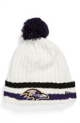 New Era Cap 'Yesteryear - Baltimore Ravens' Knit Cap