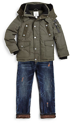 Diesel Little Boy's Juitty Corduroy Jacket