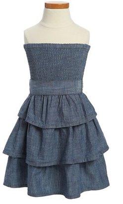 Arabella Peek 'Arabella' Dress (Toddler Girls, Little Girls & Big Girls)
