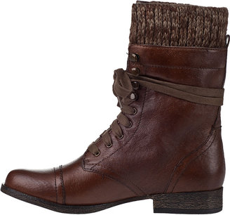 Steve Madden Jaax Lace-up Boot Black Leather