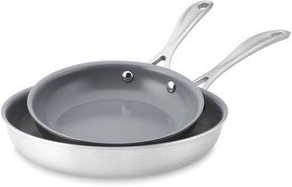 Zwilling J.A. Henckels Zwilling Spirit Stainless-Steel Ceramic Nonstick Fry Pan, Set of 2