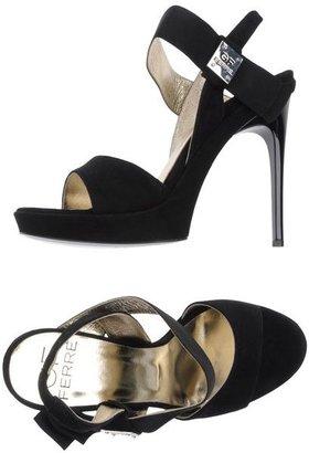 Gianfranco Ferre Platform sandals