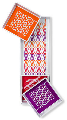 Jonathan Adler Serveware, Loop Melamine 4-Piece Divided Tray