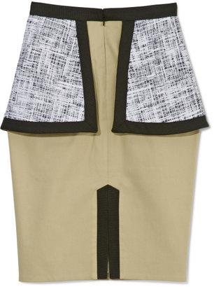 Edeline Lee Stone Orlando Peplum Skirt