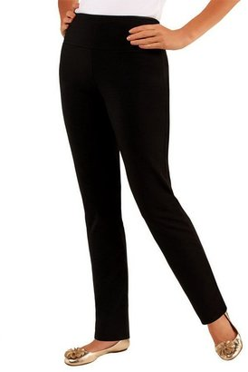 Women With Control Women with Control Petite Slim Leg Pants w/Tummy Control