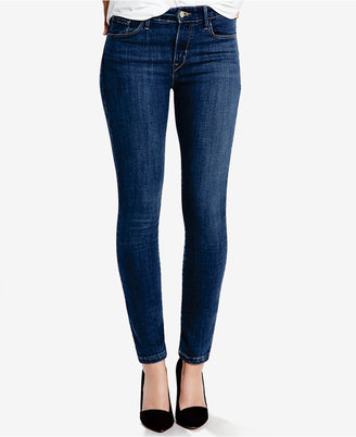 Levi's® Mid-Rise Skinny Jeans $54.50 thestylecure.com