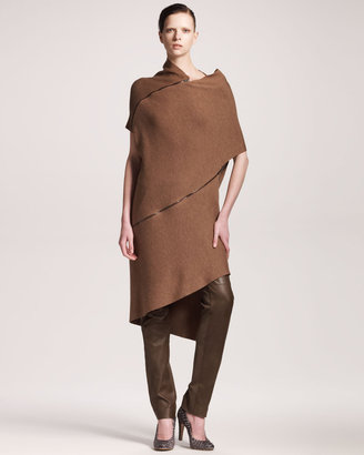 Maison Martin Margiela Asymmetric Zippered Coat