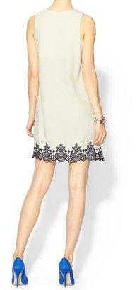Pim + Larkin Embroidered Shift Dress