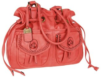 Jessica Simpson Emma Draw Tote (Coral) - Bags and Luggage