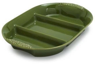 Sur La Table Oven-to-Table Stoneware Three-Sectioned Dishes