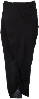 Helmut Lang Asymmetrical Skirt