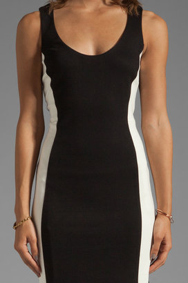 Velvet by Graham & Spencer Delane Color Block Ponti Dress