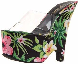 Pleaser USA Women's Beau-601FP/C/BMFPF Platform Sandal