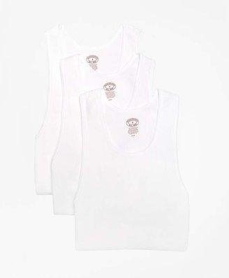 Supima® Cotton Athletic Tank Undershirt - Three Pack $29.50 thestylecure.com