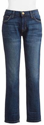 Current/Elliott CURRENT ELLIOTT The Fling Slim Boyfriend-Fit Jeans