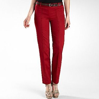JCPenney Worthington® Belted Sateen Ankle Pants - Tall
