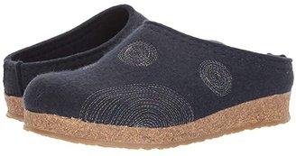Haflinger Spirit (Med Blue) Women's Clog Shoes