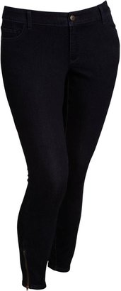 Old Navy Women's Plus The Rockstar Zip-Ankle Skinny Jeans