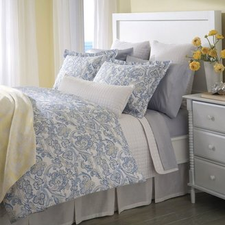 Bed Bath & Beyond Downtown Company Peizli Reversible Duvet Cover in Blue