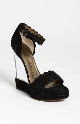 Lanvin Lucite Wedge Sandal