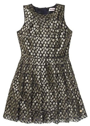 Juicy Couture Gold Lace Dress