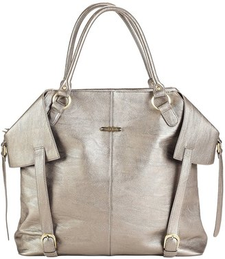 Timi & Leslie Charlie Convertible Diaper Tote - Pewter