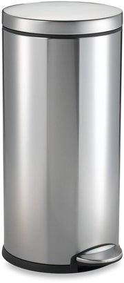 Simplehuman 30-Liter Round Deluxe Edition Step Trash Can