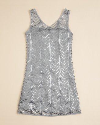 Sally Miller Girls' Gatsby Sequin Dress - Sizes S-XL