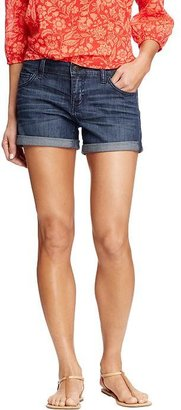 """Old Navy Women's Denim Boyfriend Shorts (3-1/2"""")"""