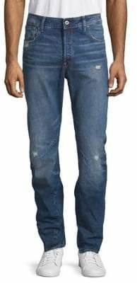 G Star Distressed Skinny Jeans