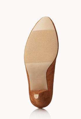 Forever 21 Classic Faux Suede Pumps